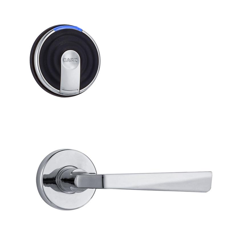 Hotel guest room MF1 key card door lock two pieces split type RF-1660